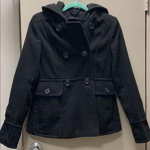 A.n.a pea coat style coat